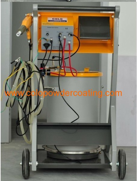 electrostatic powder coating system