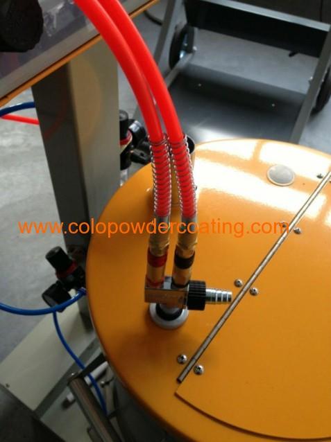 epoxy powder coating machine
