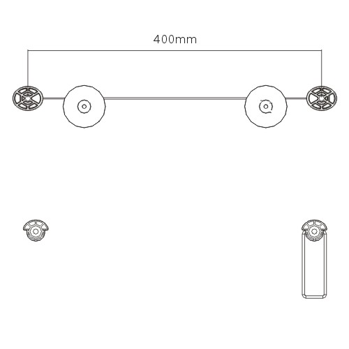 Ultra slim new economical adjustable metal LED TV mount bracket