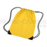 Fabric gift bag,drawstring bag,yellow drawstring bag,duffel bag,promotional drawstring bag,