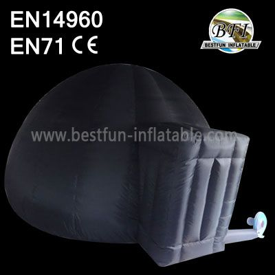 High Quality Single Layer Inflatable Planetarium Dome With Entrance