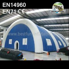 Double Layer Inflatable Residential Tent