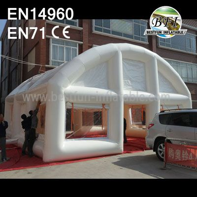 Popular White Wedding Tent Inflatable Windows And Door