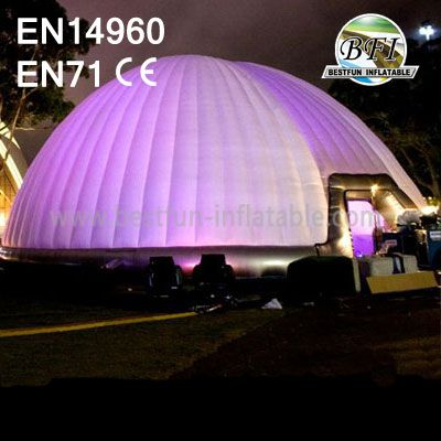 Elegant Big Inflatable Dome Tent For Exhibition Show