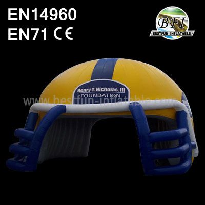 Big Inflatable Helmet Tent For Sports