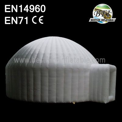 White Water Proof Inflatable 8m Igloo With Entrance