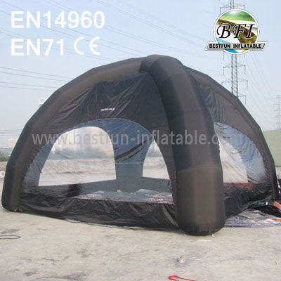 Black Cheap Advertisement Inflatable Dome Tent