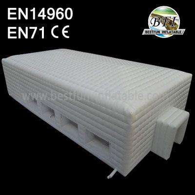 White Big Inflatable Marquee Booth For Sales