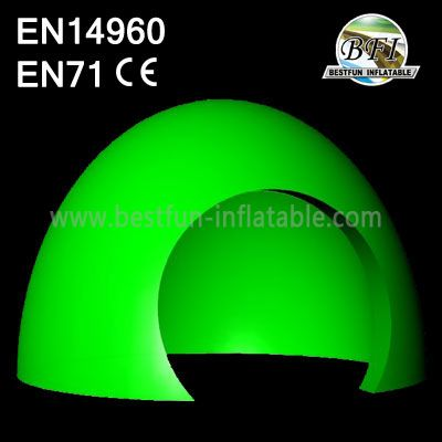 Green Customized Marquee Inflatable Dome