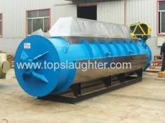 Rendering equipment slaughterhouse waste treatment steam dryer