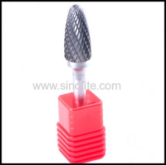 Rotary Carbide Burrs Arc Cylinder with Ball Top