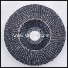 Flap disc fiberglass backing silicon carbide