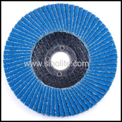 Flap disc fiberglass backing ziconia oxide 895