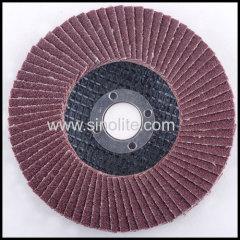 Flap disc fiberglass backing aluminium oxide