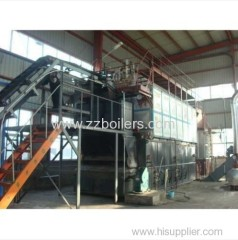 Shop Assemble Traveling Grate Biomass Boilers