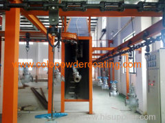 Powder Coating Ovens with Overhead Conveyor