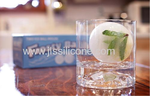 Customized Egg-shaped Silicone Ice Cube Tray