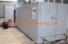 Etectrostatic Powder Coating Four avec l'italien Riello Burner