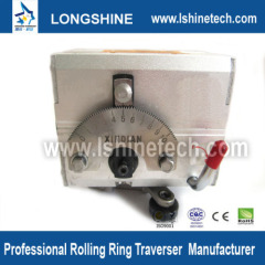 Rolling ring linear actuator linear motion control
