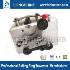 Rolling ring linear actuator motion control components