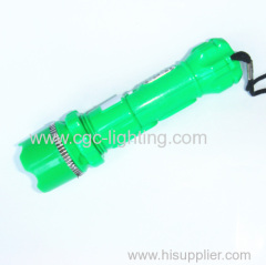 tactical design and firm plastic shape keychain light