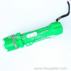 long time lasting battery and cute shape keychain flash light
