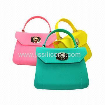 Sweet Color Silicone Handbag
