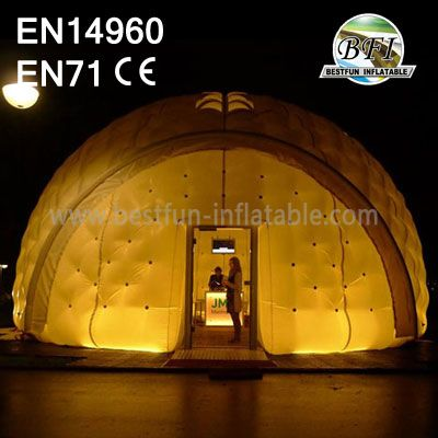 Inflatable Igloo Tent For Exhibition