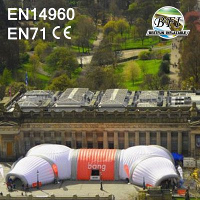 Bang Goes The Theory Inflatable Structure Combination
