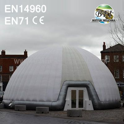 White Inflatable White Dome Tent For Expo