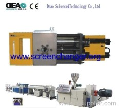 Widely used plastic extrusion machine screen exchange filter