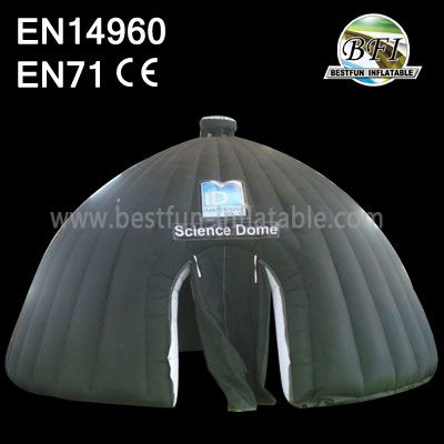 Black Indoor Camping Inflatable Domes Wholesale