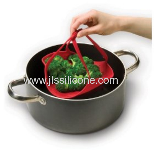 High Quality Silicone Food Steamer From Shenzhen OEM factory