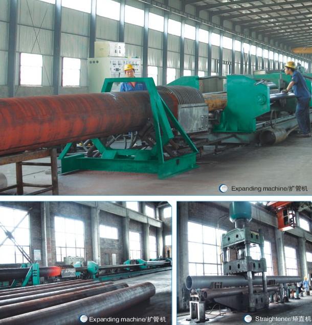 Tubo de acero al carbono sin costura ASTM A53/A106 Grado B,STD