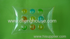 Transparent Plastic Bath Pillow