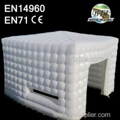 Popular Inflatable Cube Tent with light