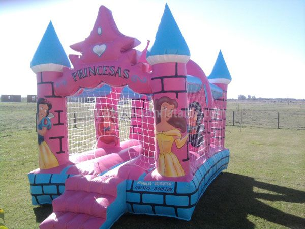 Princess commercial Inflatable Bouncer Castle