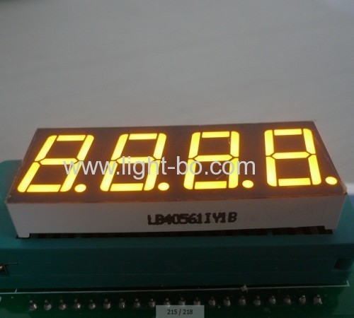 LED Display,4-Digit 0.56Common Anode Ultra Red 7 Segment for instrumnt panel.