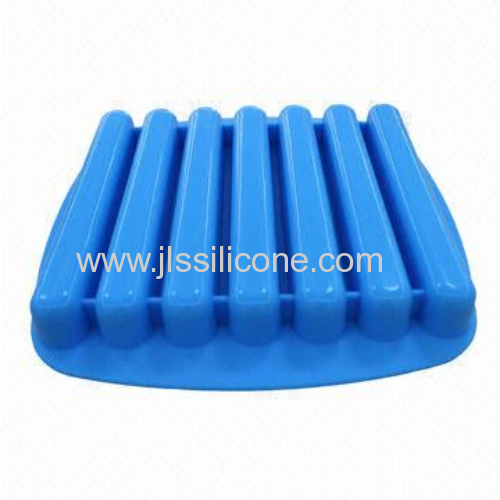 2014 worldcup supplier FDA silicone ice cube tray for bottle