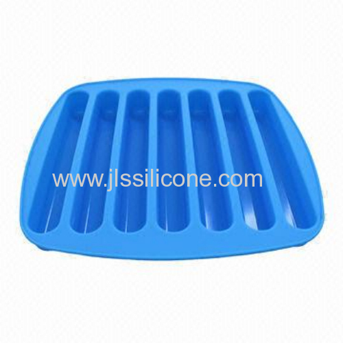 Water Bottle Silicone Stick Shape Ice Cube Tray