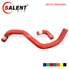 Honda FIT L13/15 water tank import and export of the pipe silicone hose