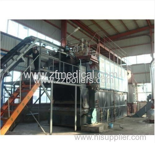 Industrial Shop Assemble Traveling Grate Biomass Boilers