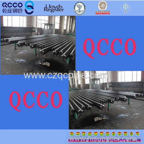 QCCO supply ASTM A106 Gr.B carbon seamless pipes 3PE coating