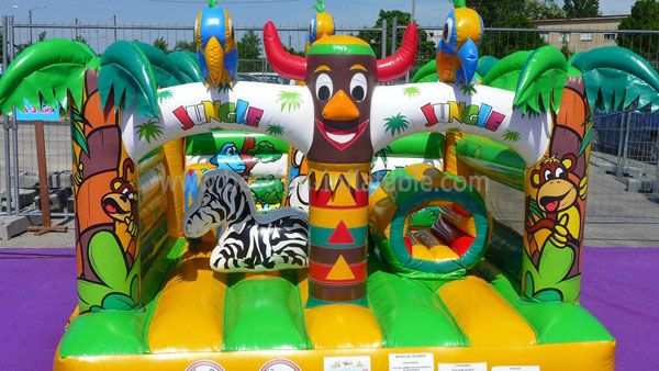Hot Sale Indian Jungle Inflatable Castle