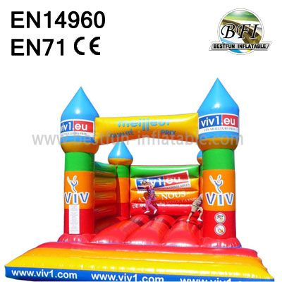 Cheap Colorful Inflatable Jumping Castle