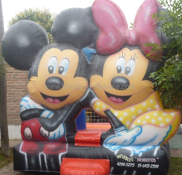 Outdoor Inflatable Mickey and MinnieBounce House for kids