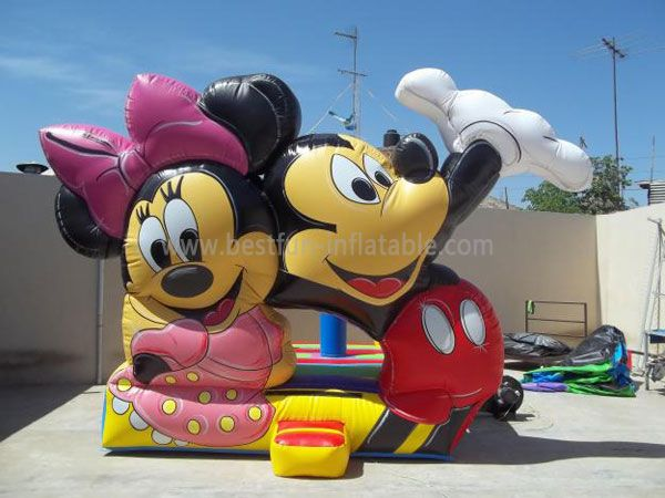 2013 Hot Sales InflatableMickey and Minnie Bouncer
