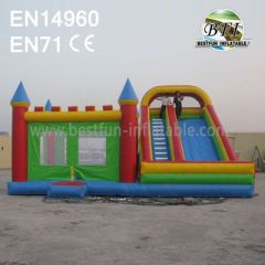 Commercial Inflatable Castle Combo