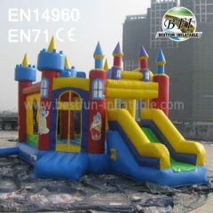 Inflatable Slide Jumping Bouncer Combo