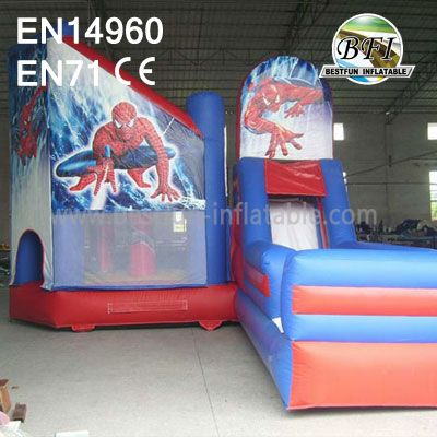 Toddler Inflatable Spiderman Bounce Combos